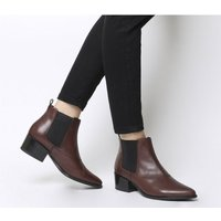 shop for Vagabond Shoemakers Marja Ankle Boot BORDO LEATHER at Shopo