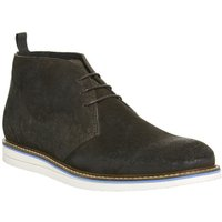 Ask the Missus Generate Wedge Chukka CHOC WAXY SUEDE