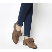 Office Flexa Slip On With Bow TAN LEATHER