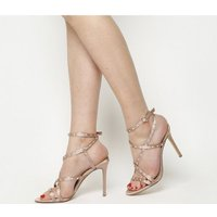 Office Hugo Strappy Sandal NUDE WITH GEMS