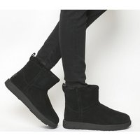 UGG Classic Mini Waterproof Boots BLACK SUEDE