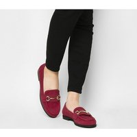 Office Fate Loafer RED SUEDE