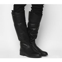Office Kentish- Tab Detail Casual Boot BLACK LEATHER