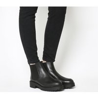 Office Angus- Cleated Chelsea Boot BLACK LEATHER