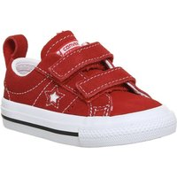 Converse One Star Infant RED WHITE