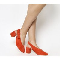 shop for Office Magical Bow Slingback RED SUEDE at Shopo