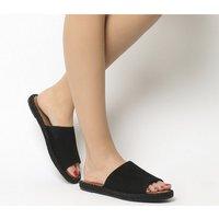 Toms Clarita Sandal BLACK SUEDE