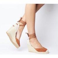 Office Marmalade Part Espadrille TAN SUEDE