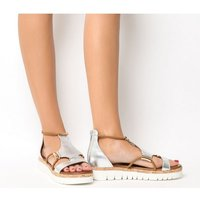 Inuovo Flat Sandal SILVER