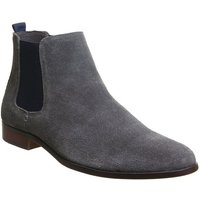 Ask the Missus Interest Chelsea GREY NAVY SUEDE