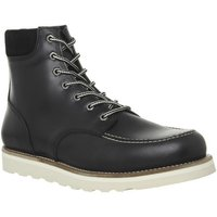 Ask the Missus Immerse Lace Boot BLACK LEATHER