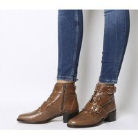 Office Aspect- Lace Up Casual Boot TAN LEATHER