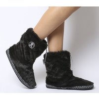 Bedroom Athletics Marilyn Short Faux Fur Boot Charcoal