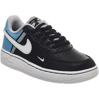 Nike Air Force 1 Lv8 Ps BLACK WHITE BLUE