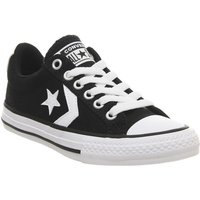 Converse Star Player Youth BLACK WHITE