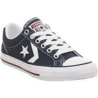 Converse Star Player Youth NAVY WHITE RED