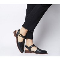 Office Filter Cut Out Loafer BLACK LEATHER