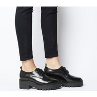 Office Mountain Chunky Lace Up BLACK BOX LEATHER