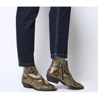 shop for Office Addition- Low Cut Western SNAKE LEATHER at Shopo