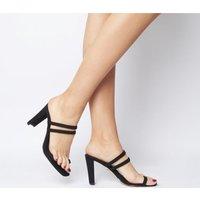 shop for Office Hashtag Toe Loop Dressy Mule BLACK at Shopo