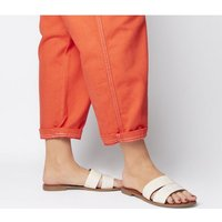 Office Sacred- Mule OFF WHITE CROC LEATHER