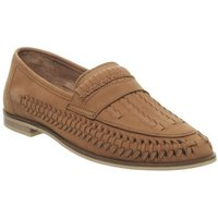 Office Leyton Weave Slip On TAN WASHED LEATHER