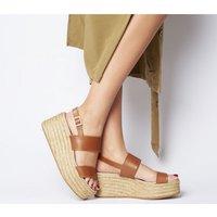 shop for Gaimo for OFFICE Sarty Sandal TAN at Shopo