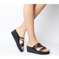 Shoe the Bear Jade Multi Wedge BLACK