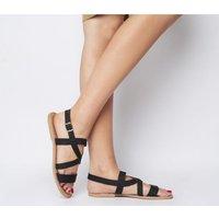 Solillas Strappy Sandal BLACK
