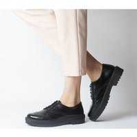 Office Fides Chunky Brogue Lace Up BLACK BOX