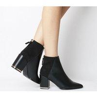 shop for Office Astounding- Block Heel Point BLACK MIX at Shopo