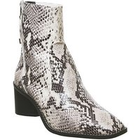 shop for Office Achilles- Unlined Block Heel NATURAL SNAKE LEATHER at Shopo