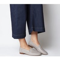 Office Flume Loafer GREY LEATHER
