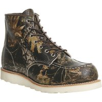 Redwing Work Wedge Boot CAMO LEATHER,Brown,Red,Black and Brown