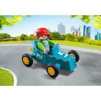 Boy with Go-Kart