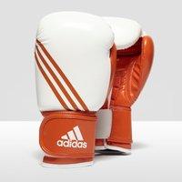 Mens Orange Adidas Box-fit Adult Boxing Gloves