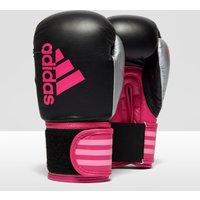 Mens Black Adidas Hybrid 100 Adult Boxing Gloves