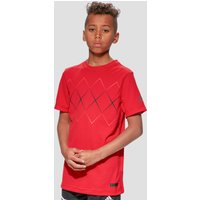 adidas BARRICADE JUNIOR TENNIS T-SHIRT - red, red