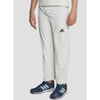 adidas Howzat Junior Cricket Trousers - white/blue, white/blue