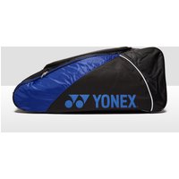 Mens Black Yonex Club Series X6 Racket Bag