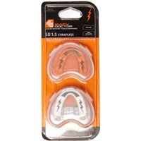 Black Shock Doctor V1.5 Youth MOUTHGUARD TWIN PACK, Black