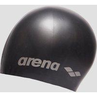 Mens Black Arena Classic Silicone Swimming Cap
