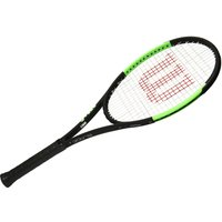 Womens Black Wilson Blade 98 Countervail Reverse Tour Unstrung Tennis Racket