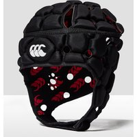 Black Canterbury Junior Ventilator Headguard, Black
