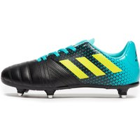 Mens Black Adidas All Blacks Sg Junior Rugby Boots