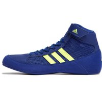 Image of Navy blue adidas Havoc Junior Wrestling Boots