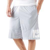 Mens Grey Nike Verbiage Basketball Shorts