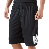 Mens Black Nike Verbiage Basketball Shorts