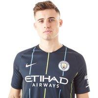 Mens Navy Blue Nike Manchester City Fc 2018/19 Away Shirt