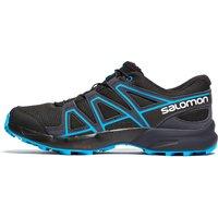 Black Salomon Speedcross Junior Trail Running Shoes, Black